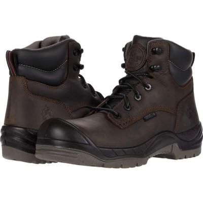 ロッキー Rocky メンズ シューズ・靴 Worksmart 6' Composite Toe Waterproof Brown