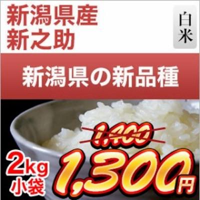 令和元年産(2019年) 新潟県の新ブランド 新之助 白米 2kg【米袋は真空包装】