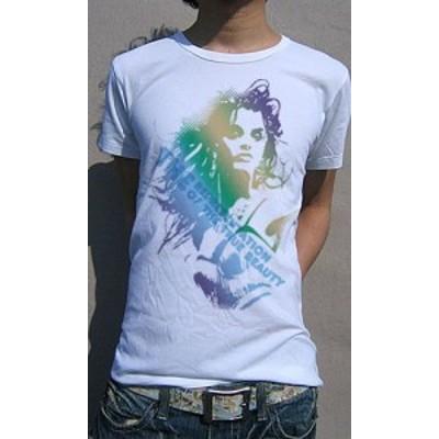 Tシャツ メンズ 半袖 女性 グラフィック カラーリング デティールデザインTee 送料無料(d9-t)