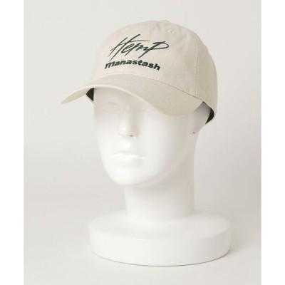帽子 キャップ MANASTASH/マナスタッシュ HEMP CAP ヘンプキャップ