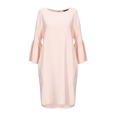 ANTONELLI ミニワンピース&ドレス ピンク 42 レーヨン 70% / アセテート 26% / ポリウレタン 4% ミニワンピース&ドレス