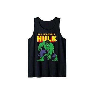 並行輸入品Marvel Vintage Incredible Hulk Action Pose Portrait Tank Top【お取り寄せ】