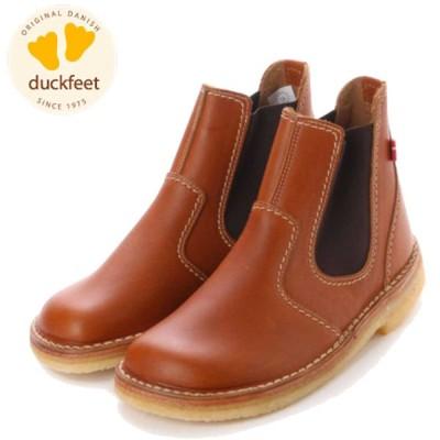 duckfeet ダックフィート 4650 ブラウン(ユニセックス) クレープソールのサイドゴアブーツ