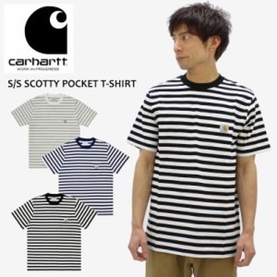 カーハート ダブリューアイピー (Carhartt WIP) S/S SCOTTY POCKET T-SHIRT (i029000)  メンズ 半袖 Tシャツ/カットソー[AA]