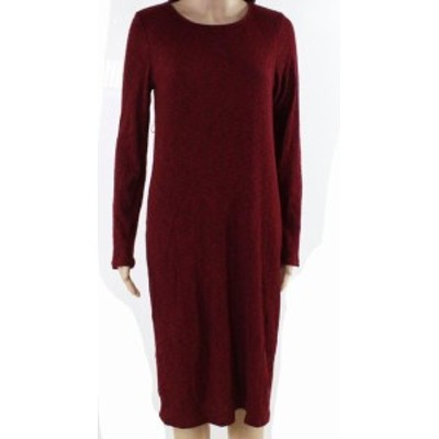 Red  ファッション ドレス Sweet Claire NEW Red Black Womens Size Medium M Knitted Sheath Dress