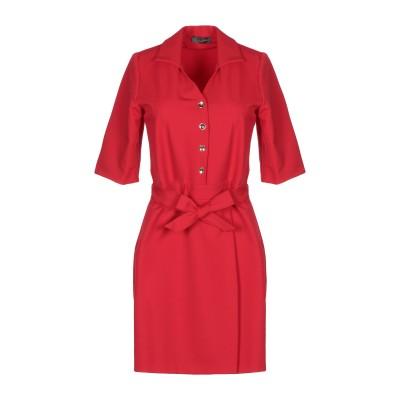 SOALLURE ミニワンピース&ドレス レッド 38 ナイロン 87% / ポリウレタン 13% ミニワンピース&ドレス