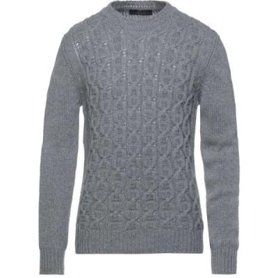 ブイネック VNECK メンズ ニット・セーター トップス sweater Grey