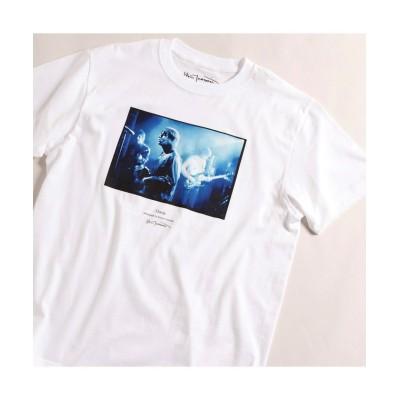 【メンズビギ】 OASISフォトグラフTシャツ メンズ ホワイト 03(L) Men's Bigi