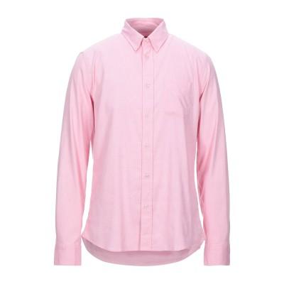 ブラウアー BLAUER シャツ ピンク XL コットン 97% / ポリウレタン 3% シャツ