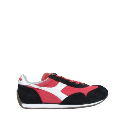 DIADORA HERITAGE スニーカー&テニスシューズ(ローカット) ブラック 7 革 / 紡績繊維 スニーカー&テニスシューズ(ローカット)