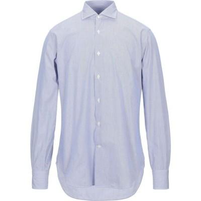 ロダ RODA メンズ シャツ トップス striped shirt Blue