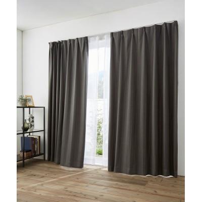 ストライプ柄。遮光カーテン&レース4枚セット カーテン&レースセット, Curtains, sheer curtains, net curtains(ニッセン、nissen)