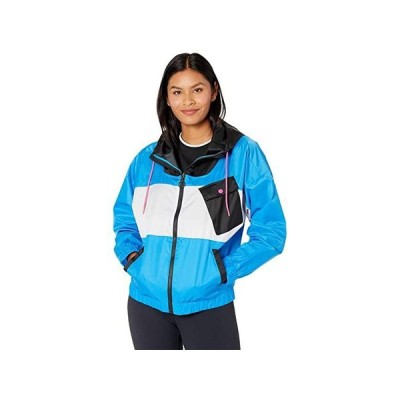 リーボック Workout Ready Meet You There Woven Jacket レディース コート アウター Horizon Blue