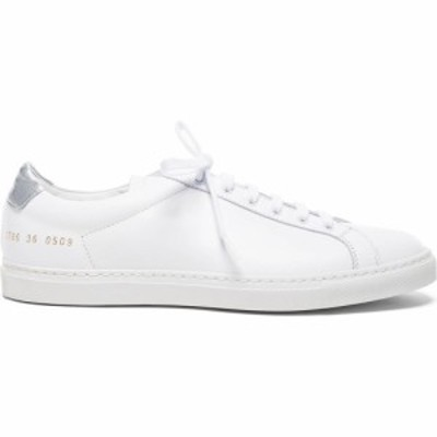 コモン プロジェクト Common Projects レディース シューズ・靴 Leather Achilles Retro Low White/Silver