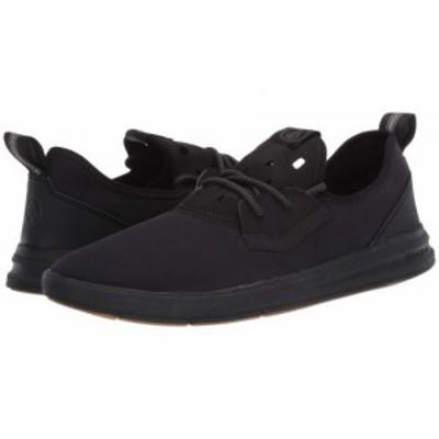 Volcom ヴォルコム メンズ 男性用 シューズ 靴 スニーカー 運動靴 Draft Eco Shoes Black Destructo【送料無料】