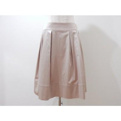 #anc Mプルミエ M-PREMIER スカート 38 ベージュ フレア レディース [631497]