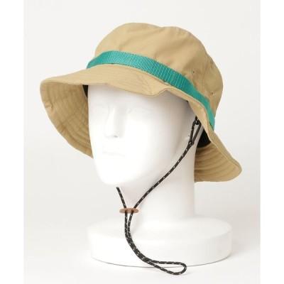 帽子 ハット 【MEI】ワンポイントロゴ バケットハット