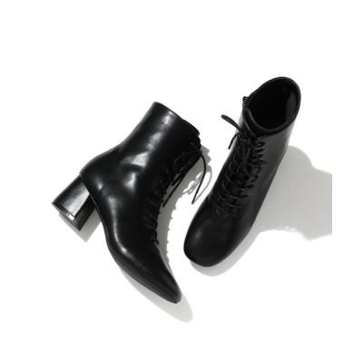 ViS / スクエアトゥソフトレースアップブーツ WOMEN シューズ > ブーツ