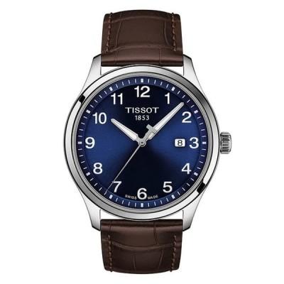 ティソット メンズ 腕時計 アクセサリー Gent XL Leather Classic Stainless Steel Watch
