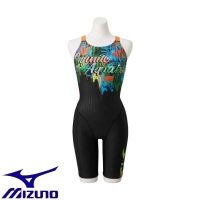 ◆◆送料無料 メール便発送 <ミズノ> MIZUNO STREAM ACE ハーフスーツ(マスターズバック)(ウィメンズ) N2MG0742 (93)  水泳