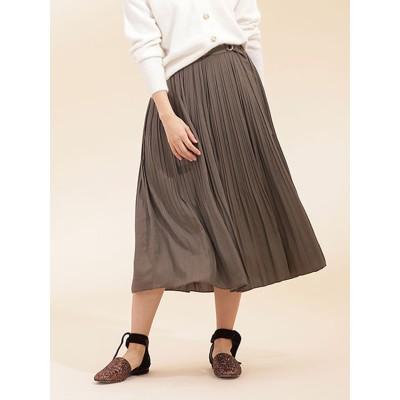 ラップ風プリーツスカート