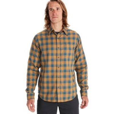 マーモット メンズ シャツ トップス Bodega Lightweight Long-Sleeve Flannel Bronze