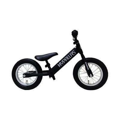 My Pallas(マイパラス) 子ども用ペダルなし自転車 ハイエンダー エアータイヤ 12インチ マットブラック MC-HE