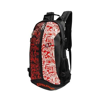 SPALDING(スポルディング) Cager Bag(ケイジャーバッグ) グラフィティー/レッド