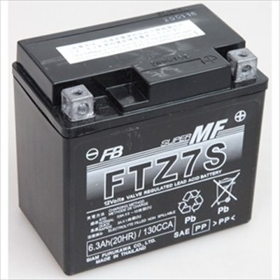古河電池 FTZ7S バイク用バッテリー【電解液注入・充電済】【他商品との同時購入不可】[FTZ7SFB]【返品種別B】