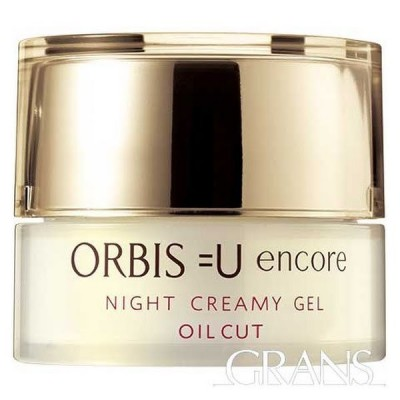 ORBIS  オルビスユー アンコールナイトクリーミージェル ボトル入り 本体 30g 夜用保湿液