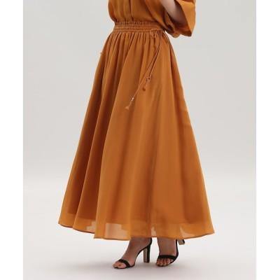 【スーペリアクローゼット/SUPERIOR CLOSET】 《Maison de Beige》ギャザーロングスカート