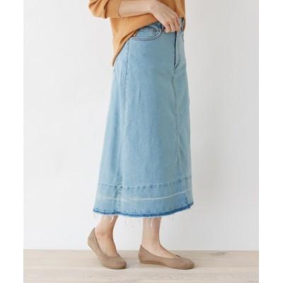 SHOO・LA・RUE / 【M-L】サスティナブルデニムロングスカート WOMEN スカート > スカート