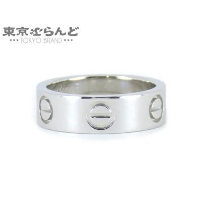 カルティエ Cartier ラブリング 指輪 Pt950 プラチナ 49 仕上済   101450204