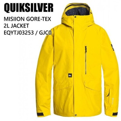 QUIKSILVER クイックシルバー ウェア EQYTJ03253 MISSION GORE-TEX 2L JK 20-21 GJC0 メンズ ジャケット ゴアテックス スノーボード