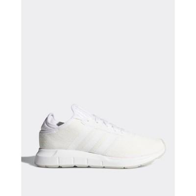 アディダス レディース スニーカー シューズ adidas Originals swift run sneakers in white