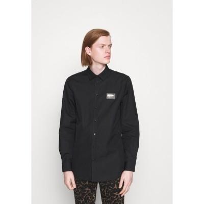 モスキーノ シャツ メンズ トップス BLOUSE - Shirt - black