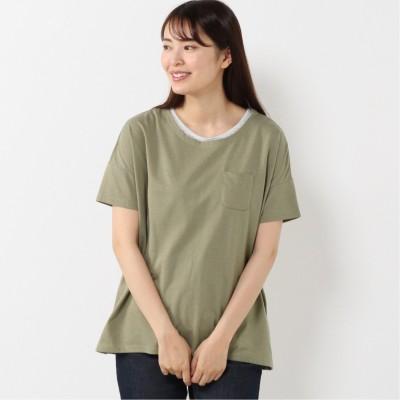 【nojean】アンサンブル半袖Tシャツ(ノージーン/NO JEAN)
