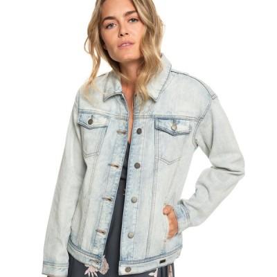 アウトレット価格 ロキシー ROXY  【OUTLET】デニム ジャケット MIDNIGHT DRIVE Womens Light Jacket