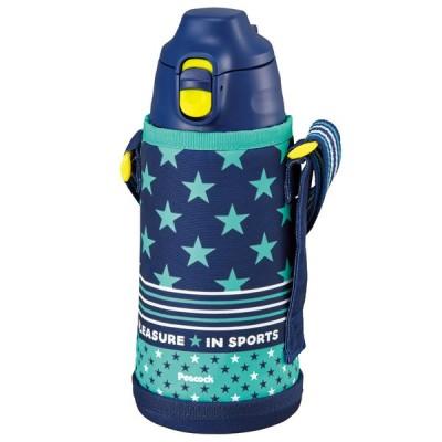 水筒・ボトル・ポリタンク ピーコック 2WAYボトル 0.8L ネイビースター