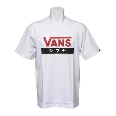 【VANS】 ヴァンズ SHIBUYA S/S TEE ショートスリーブ VANS-SBABC WHITE S ホワイト