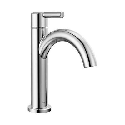 Delta Faucet Nicoli シングルハンドル 浴室蛇口 排水アセンブリ付き クロム シングル穴 浴室蛇口 15749LF_並行