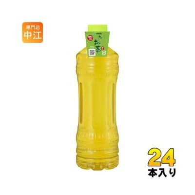 伊藤園 お〜いお茶 緑茶 ラベルレス 525ml ペットボトル 24本入