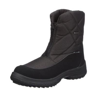 Manitu Womens Polartex Snow Boots Black Schwarz (Schwarz 1) Size: 40 並行輸入品