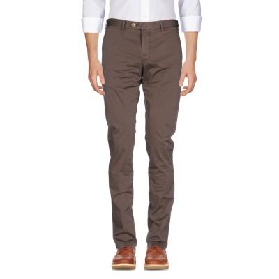 J.W. SAX  Milano パンツ ダークブラウン 46 97% コットン 3% ポリウレタン パンツ