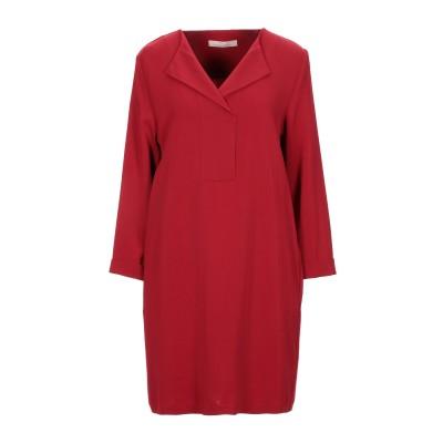 リビアナ コンティ LIVIANA CONTI ミニワンピース&ドレス レッド 38 レーヨン 97% / ポリウレタン 3% ミニワンピース&ドレス