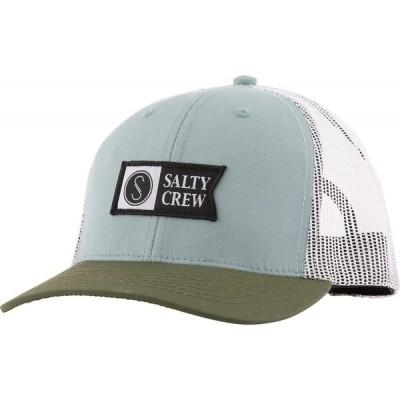 ソルティークルー Salty Crew メンズ キャップ トラッカーハット 帽子 Pinnacle Retro Trucker Hat Mist/Olive