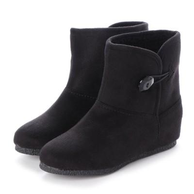 シューズラウンジ shoes lounge ショートブーツ 706904BLS (ブラック)