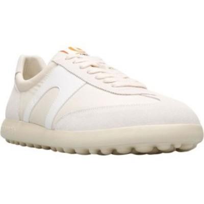 カンペール Camper メンズ スニーカー シューズ・靴 Pelotas XLF Nubuck/Fabric Sneaker Cream Nubuck/Textile