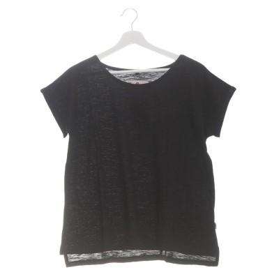 【チャイハネ】yul スラブコットンTシャツ ブラック