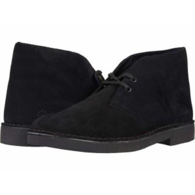 Clarks クラークス メンズ 男性用 シューズ 靴 ブーツ チャッカブーツ Desert Boot 2.0 Black Suede【送料無料】